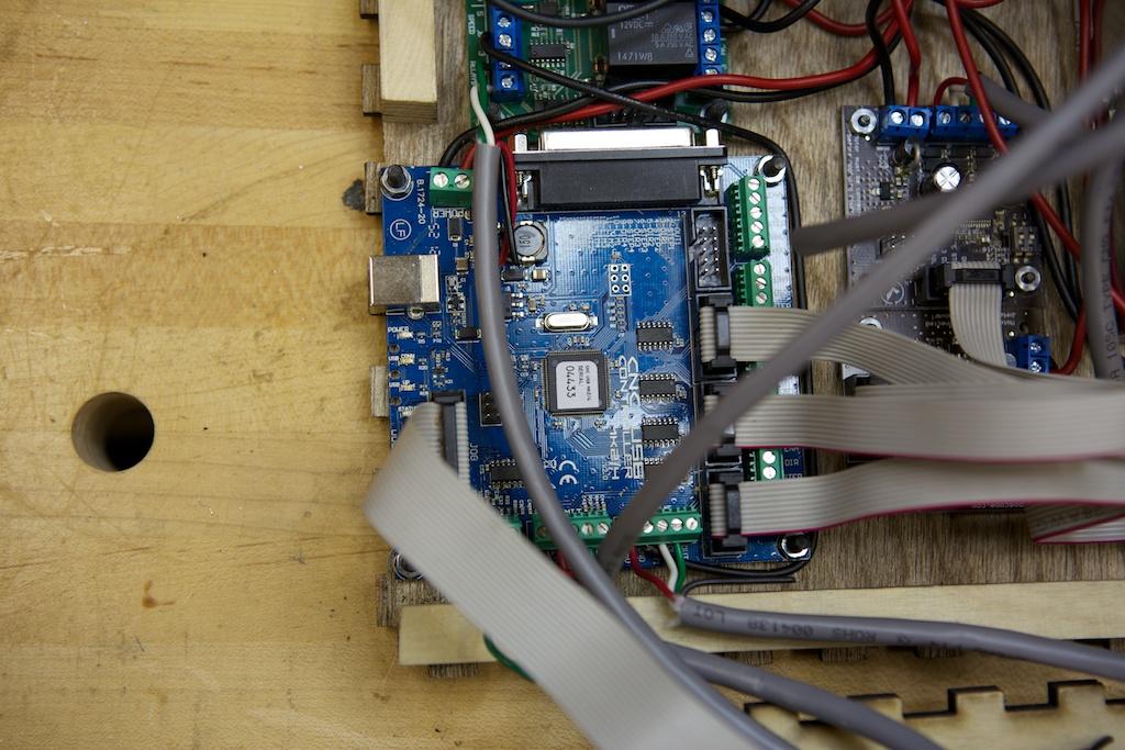 PlanetCNC controller board